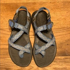 Light blue Chaco sandals women's size 9